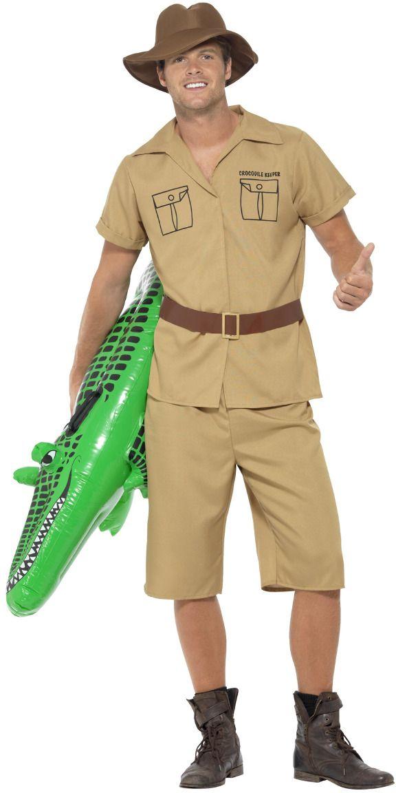 Safari jungle man kostuum