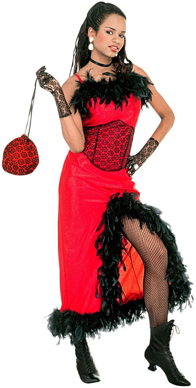 Saloon Madame Kostuum