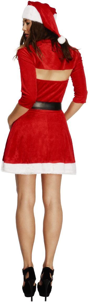 Santa babe kostuum rood