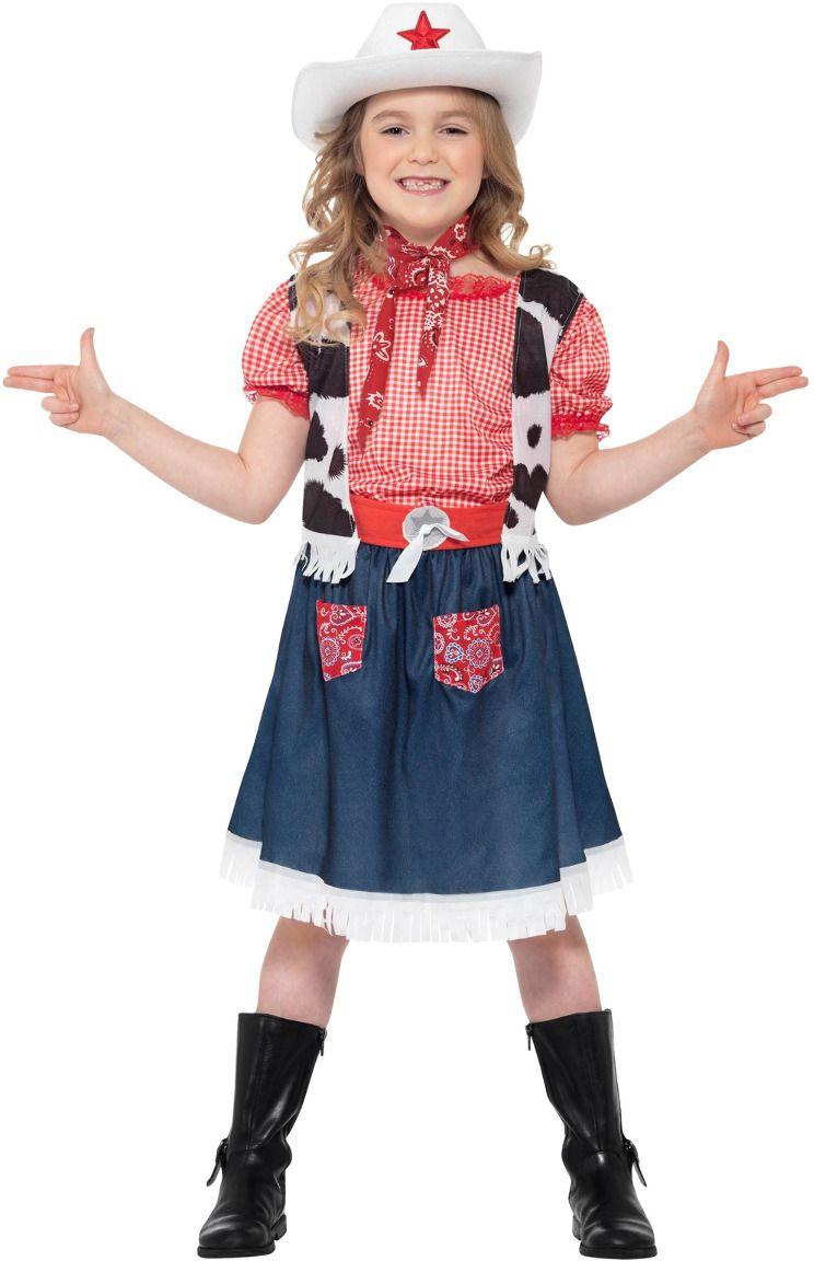 Schattig cowgirl outfit meisje