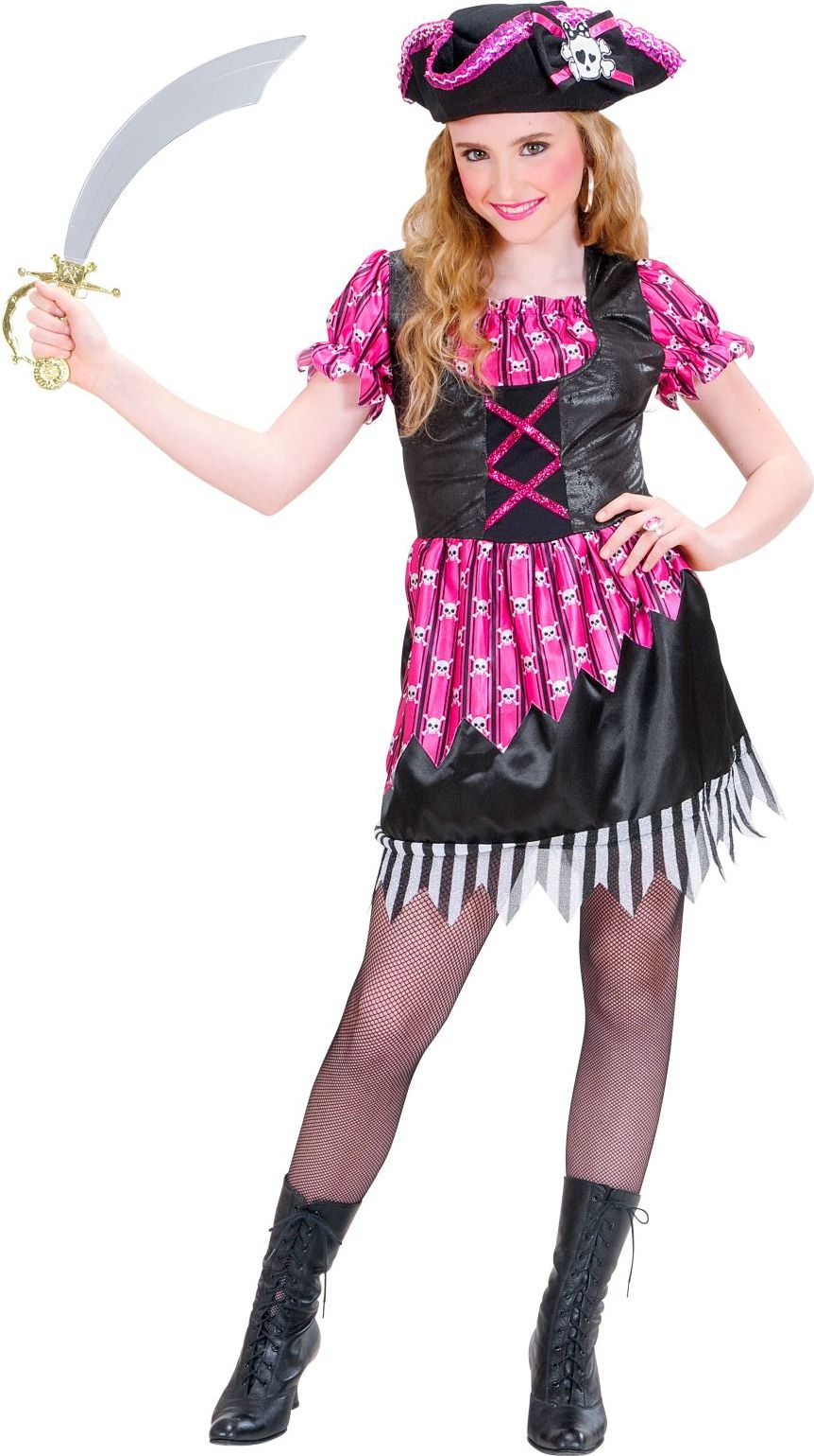 Schattig piraten meisje kostuum