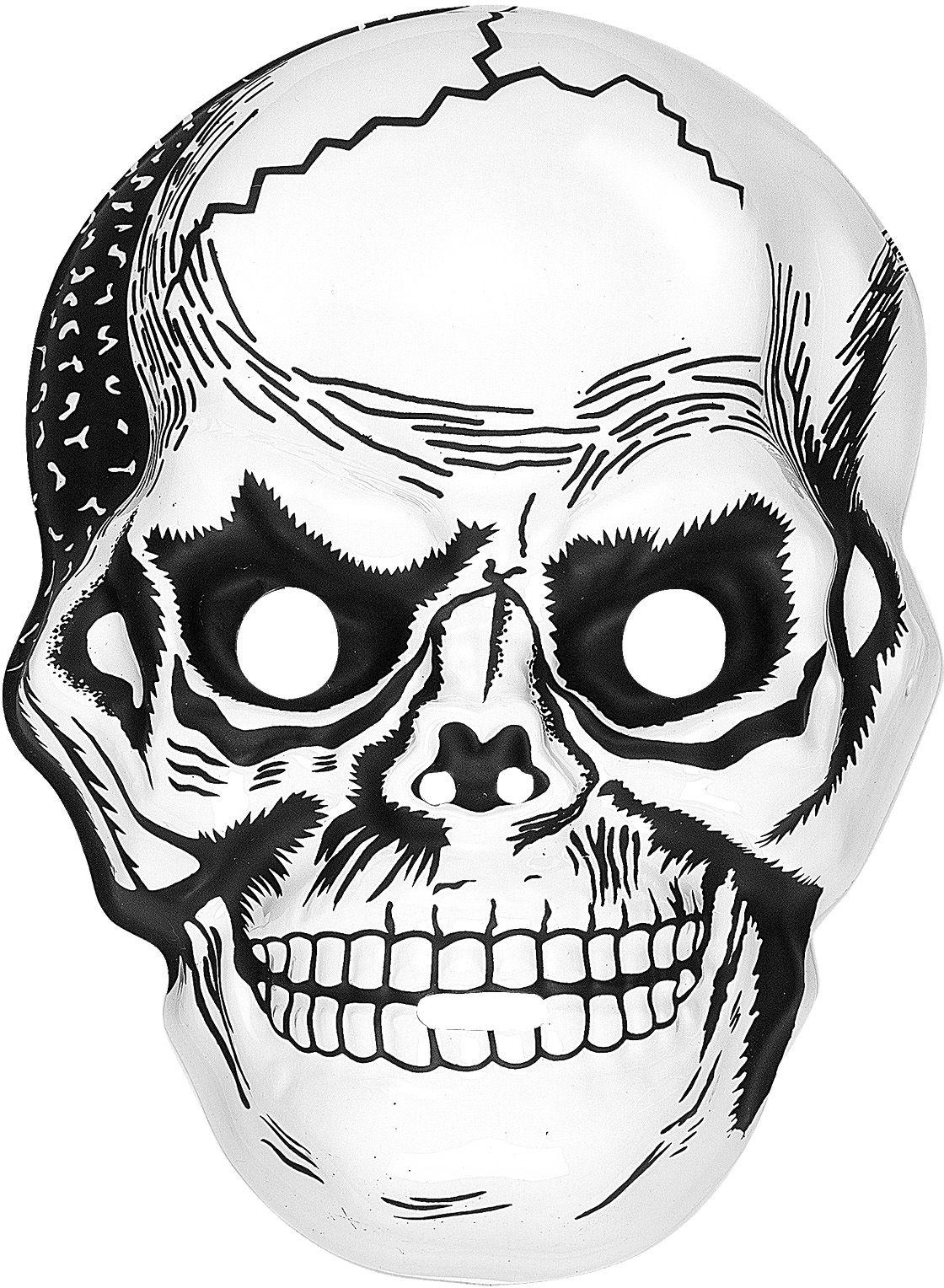 Schedel masker plastic