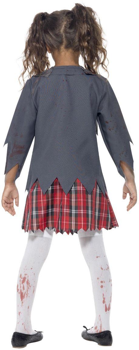 School uniform zombie meisje