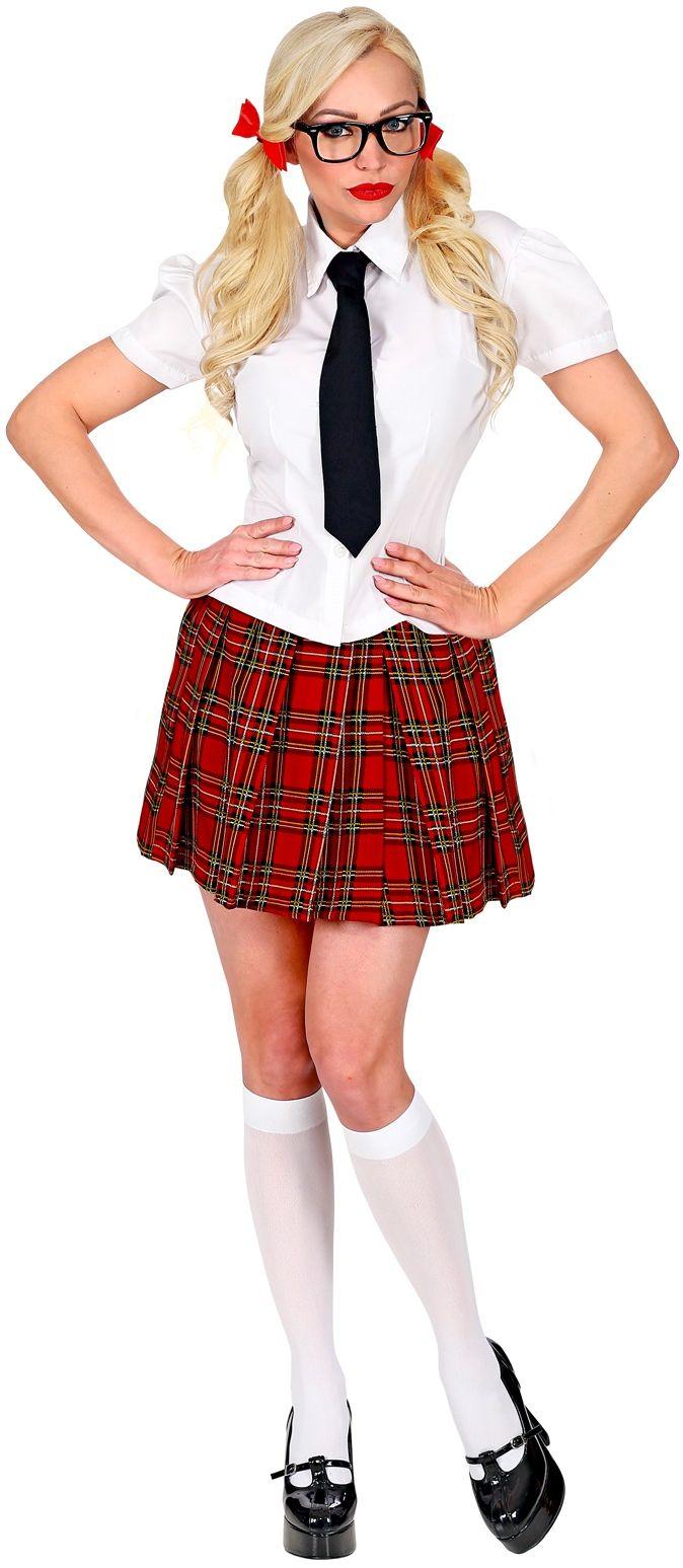 Schoolmeisje outfit
