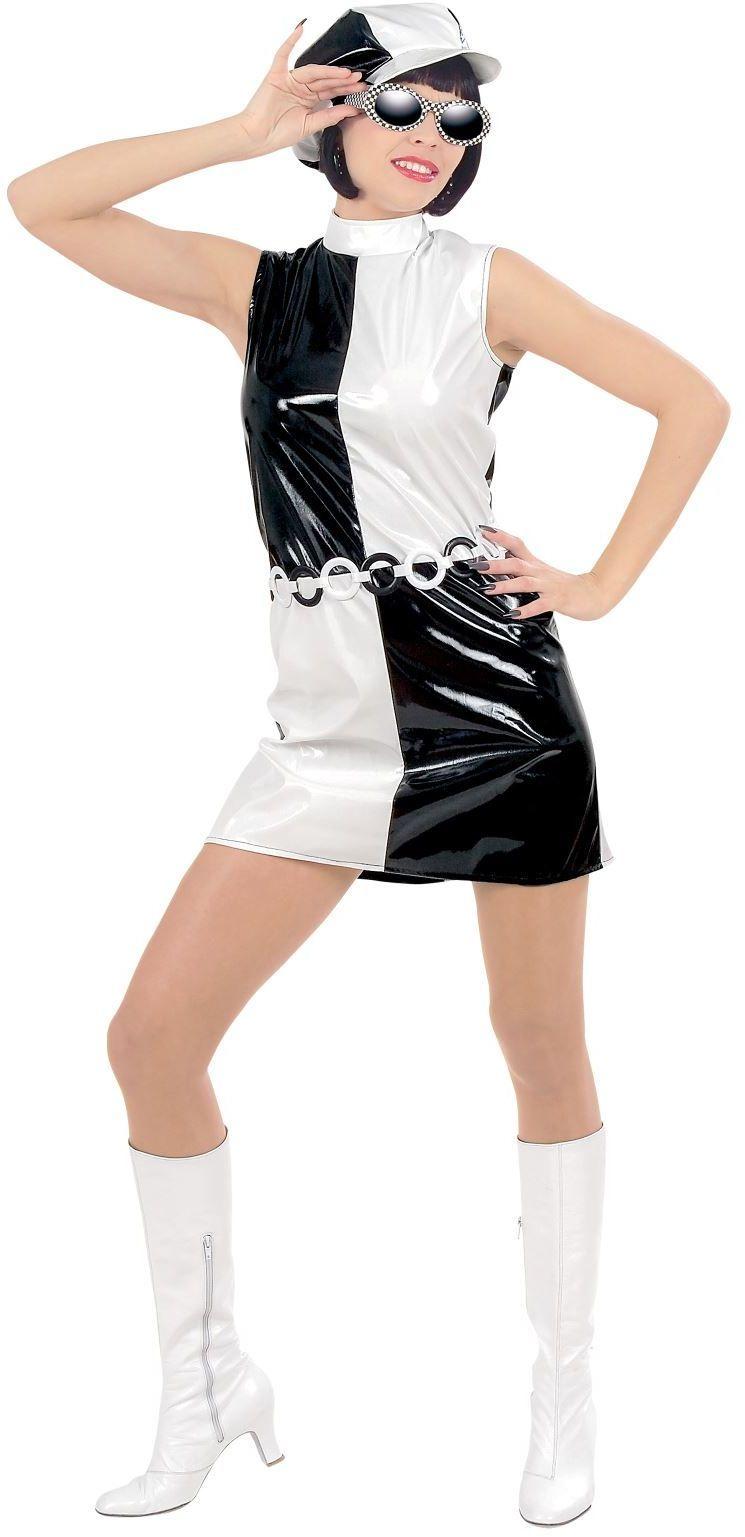 Schoonheid vinyl pop kostuum