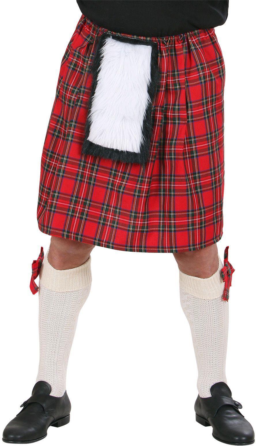 Schotse kilt kostuum