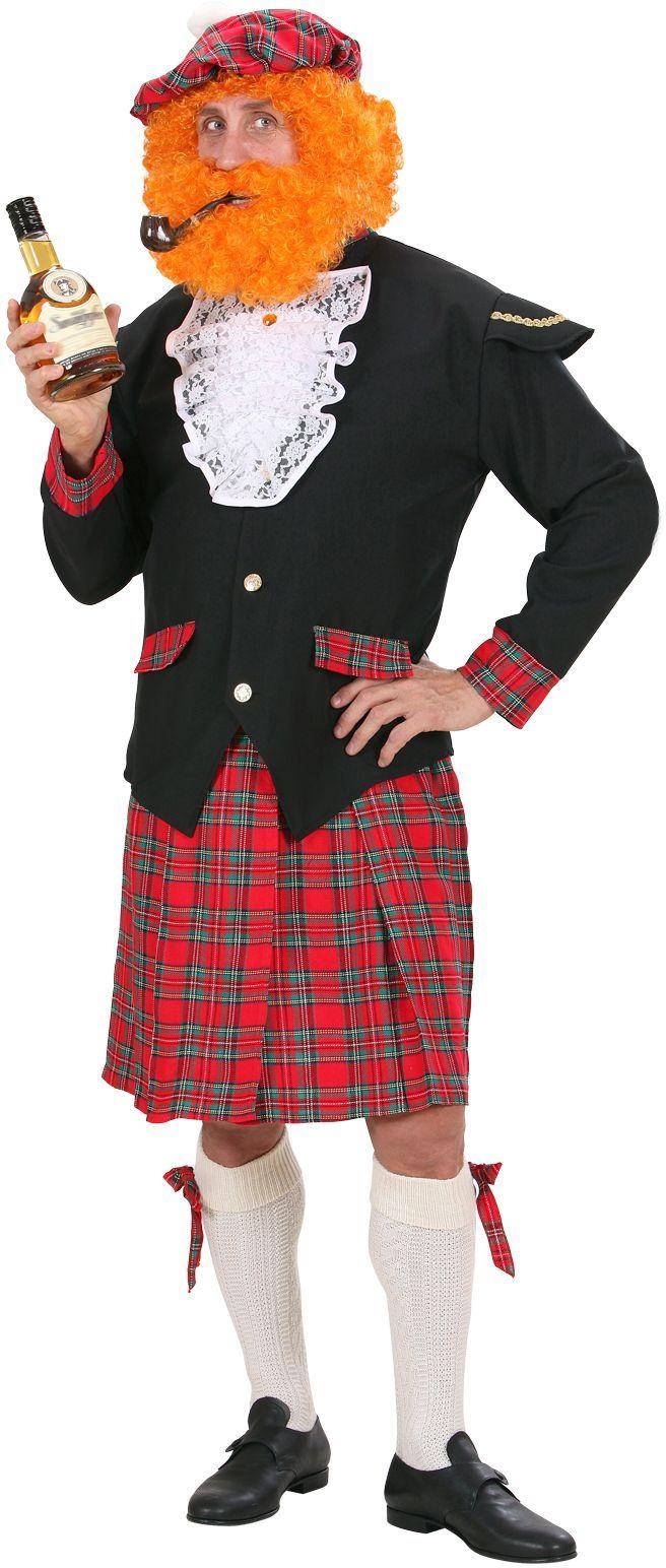Schotse man kostuum