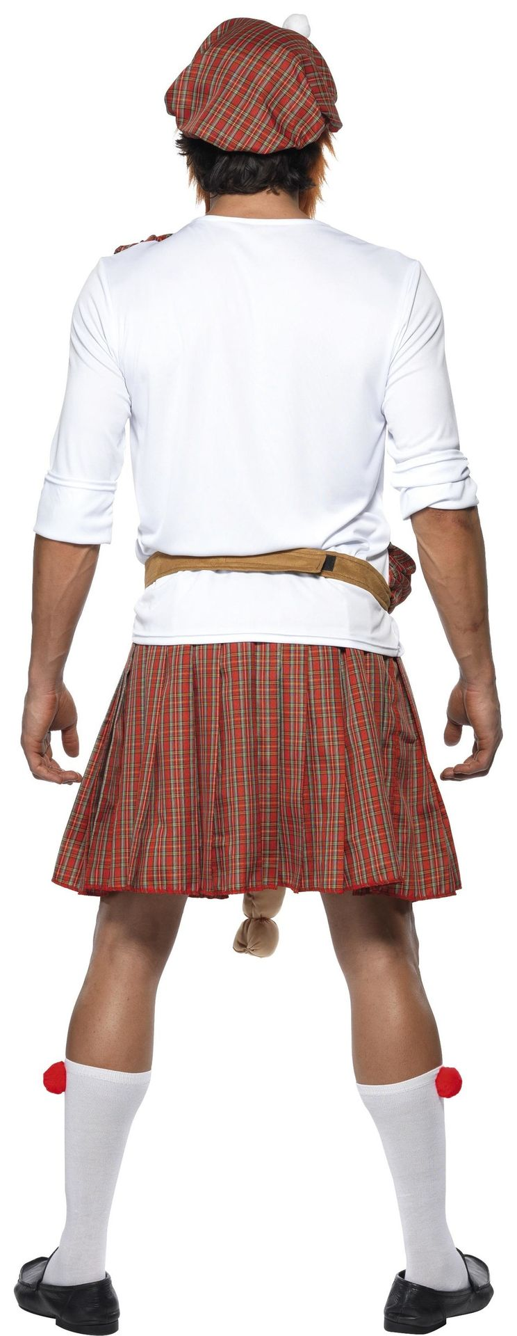 Schotse rok met verrassing
