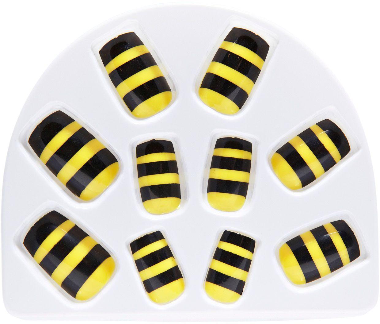 Set van 10 bijen nagels