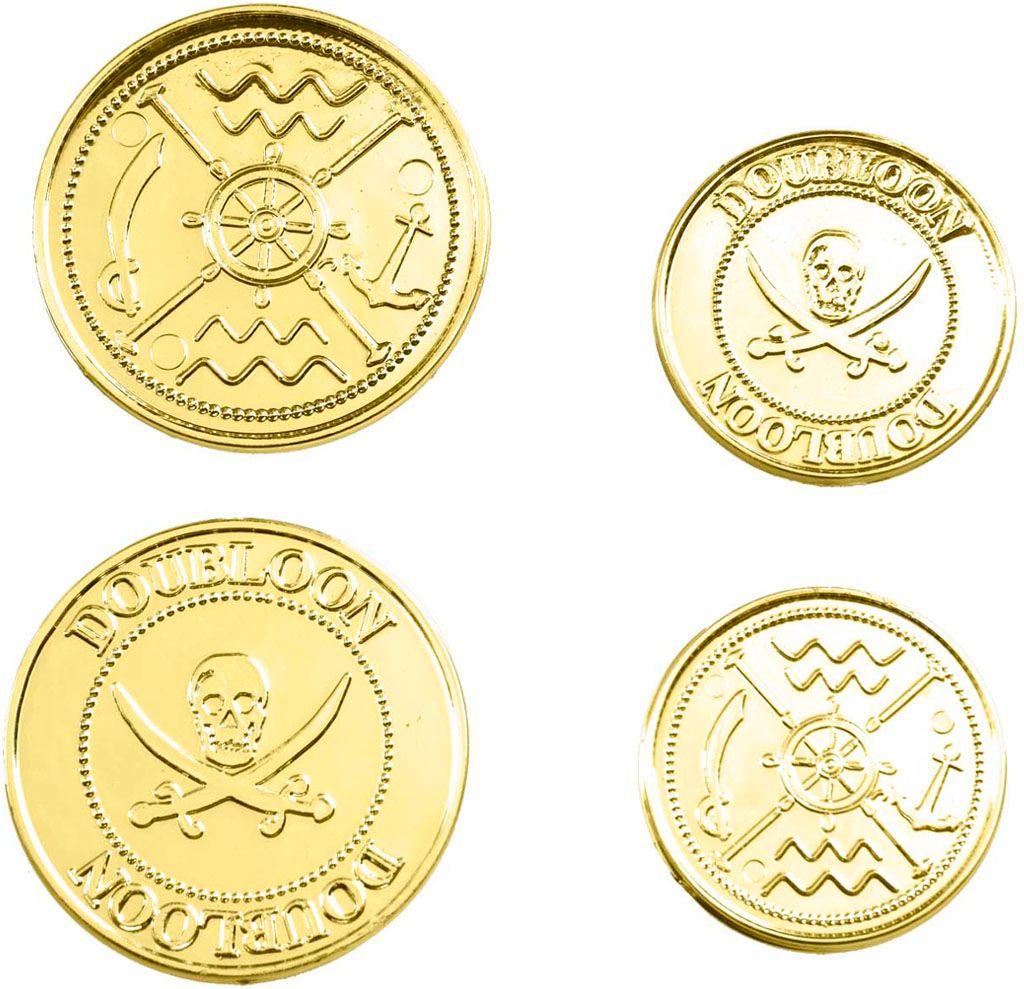Set van 12 gouden munten