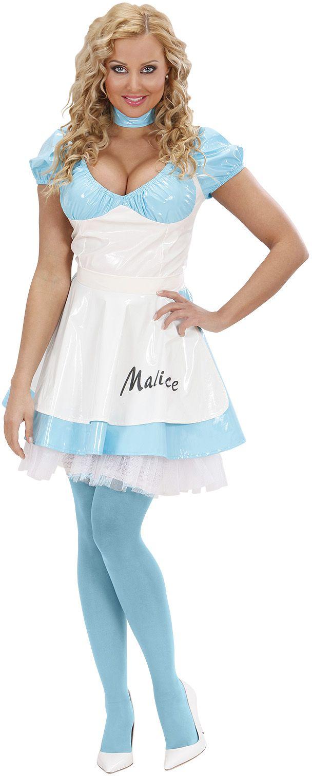 3d889402fbbc48 Klassieke Alice in Wonderland jurk - Carnavalskleding.nl