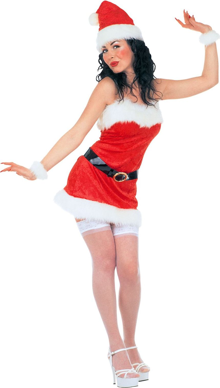 Sexy kerstvouw kostuum