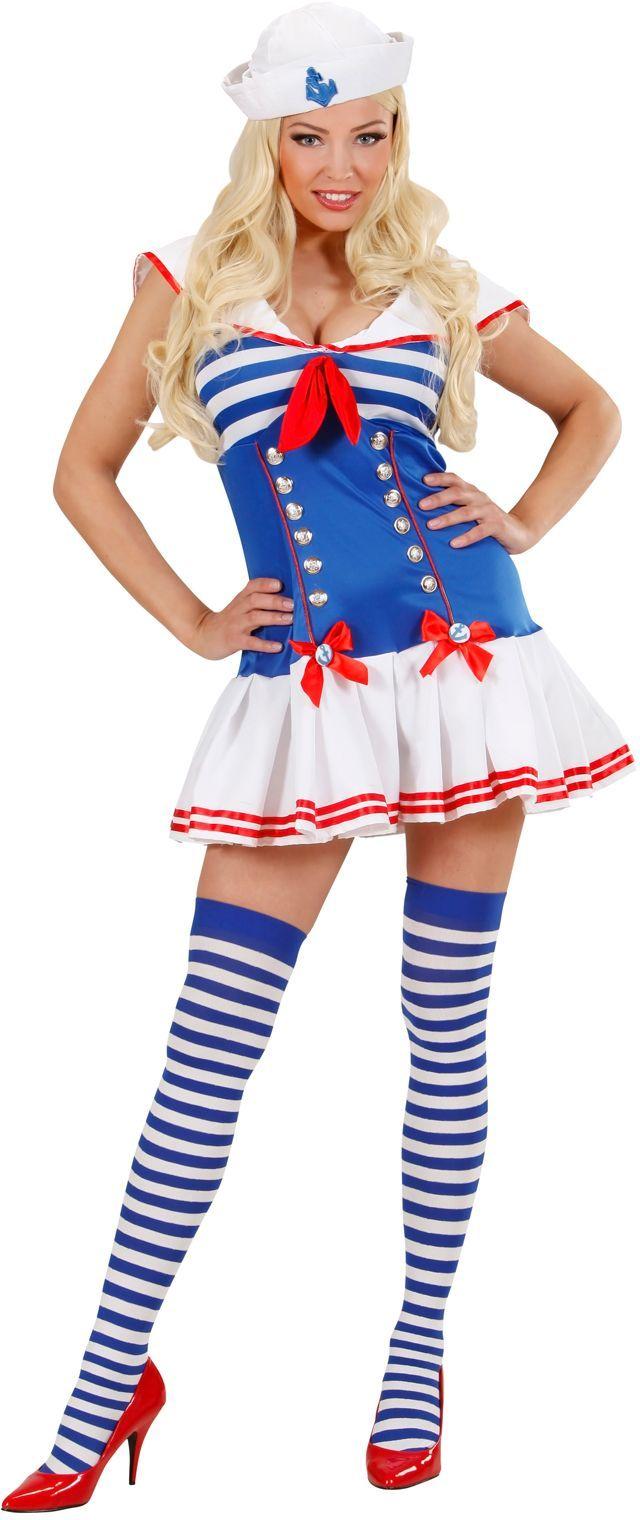Sexy matroosmeisje kostuum