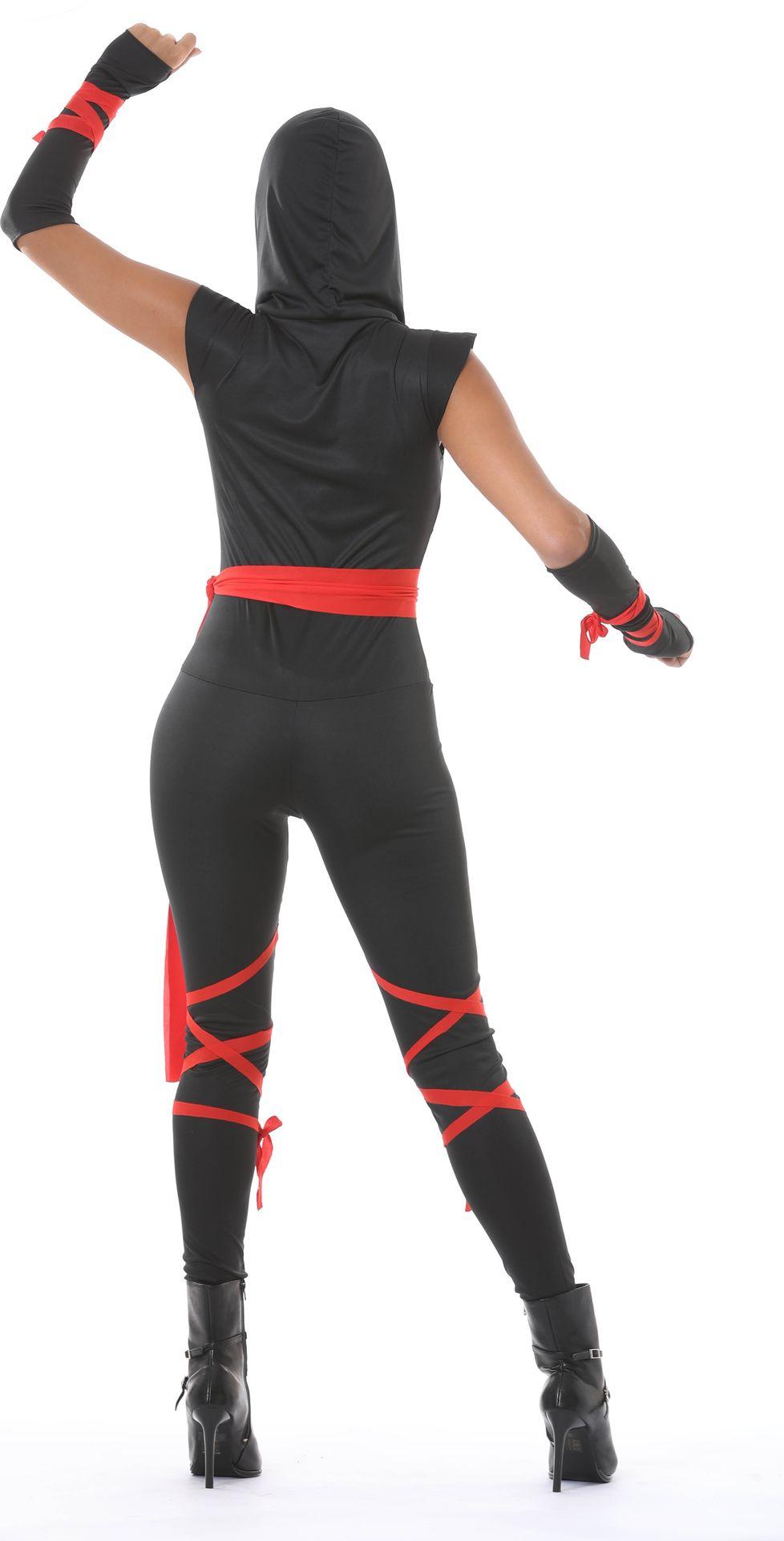Sexy ninja kostuum dames