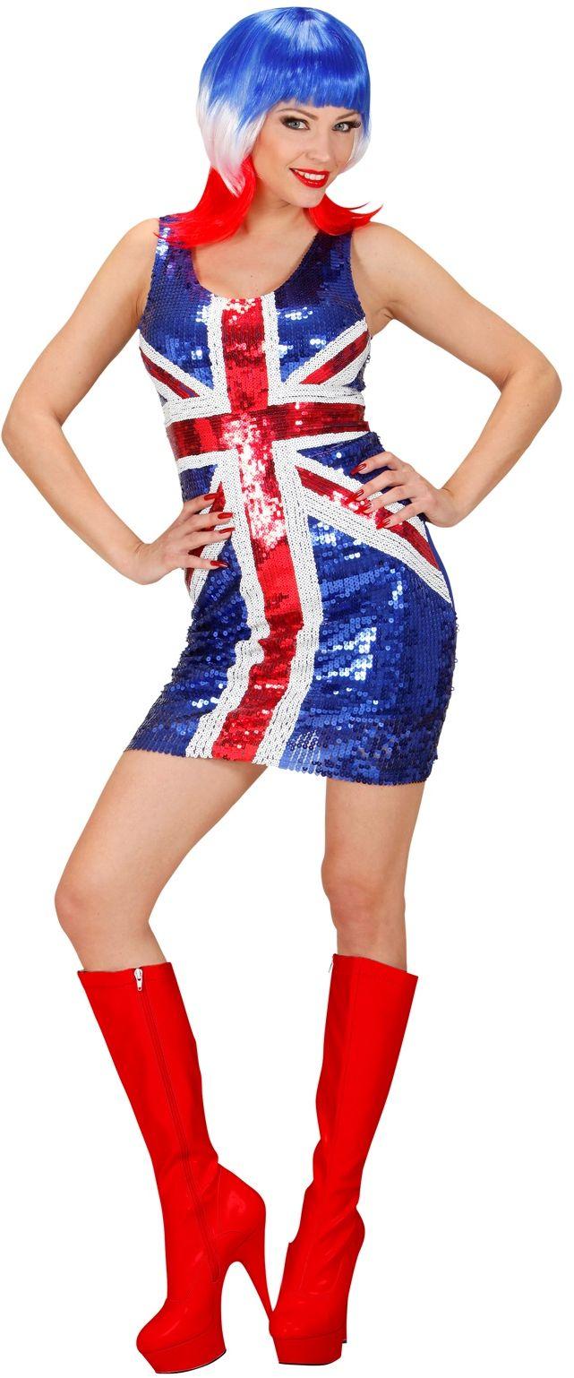 Sexy Pailletten Jurk Miss UK