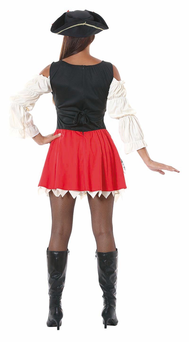 Sexy piraten jurk