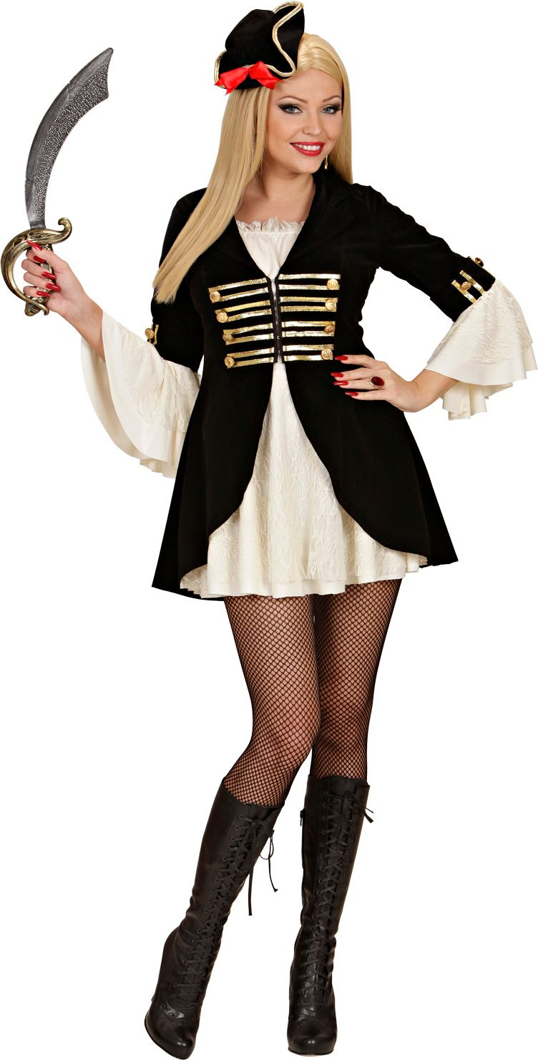 Sexy piratenkapitein kostuum
