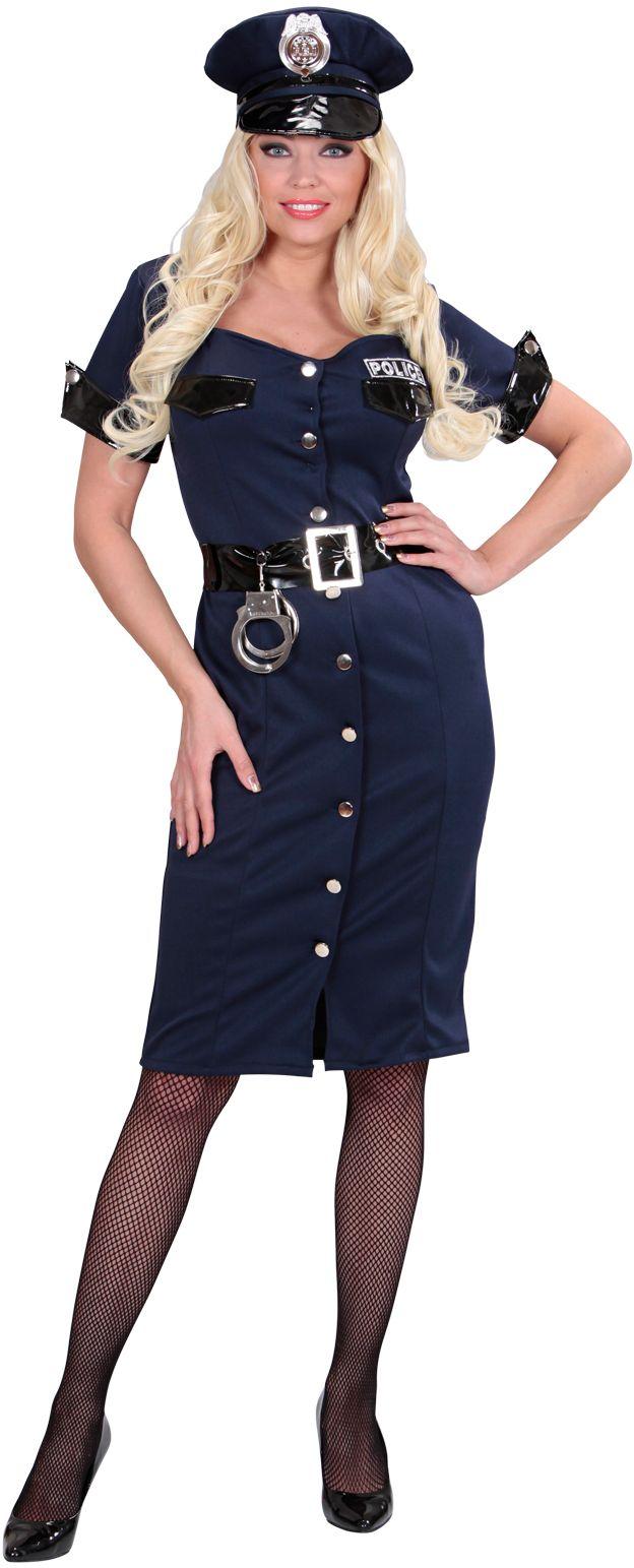 Sexy politie jurkje dames
