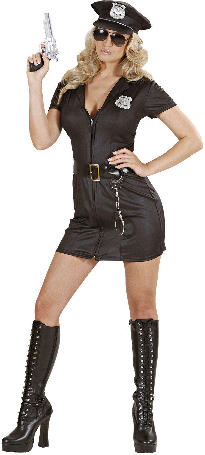 Sexy politiemeisje kostuum
