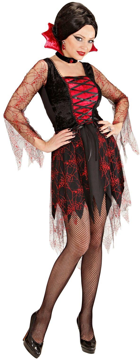 Sexy Vampier kostuum dames