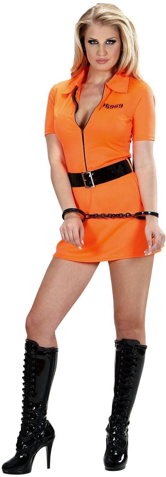 Sexy Vrouwelijke Gevangene