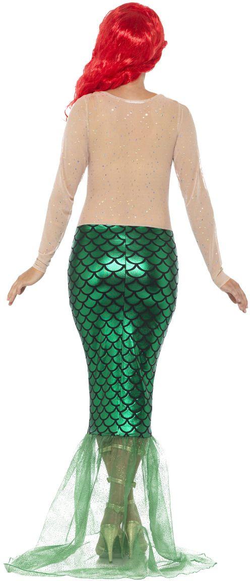 Sexy zeemeermin kostuum groen