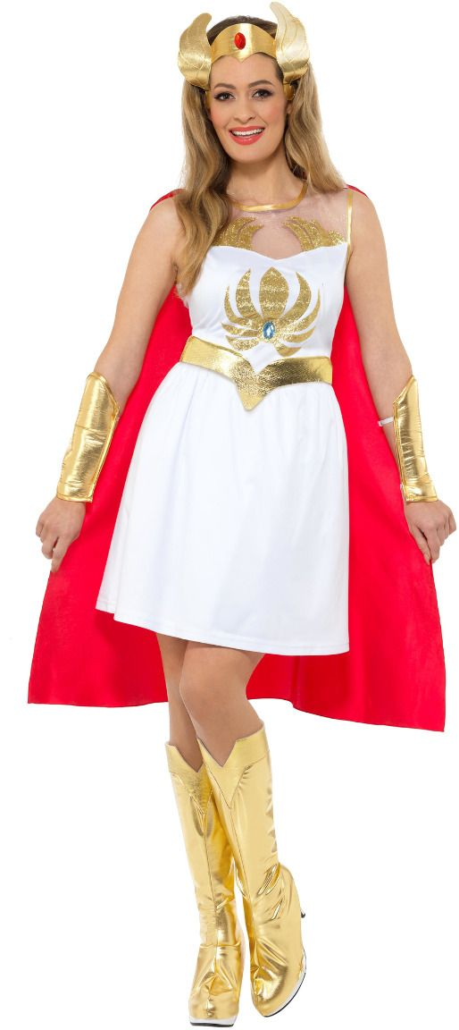 She-Ra glitter outfit