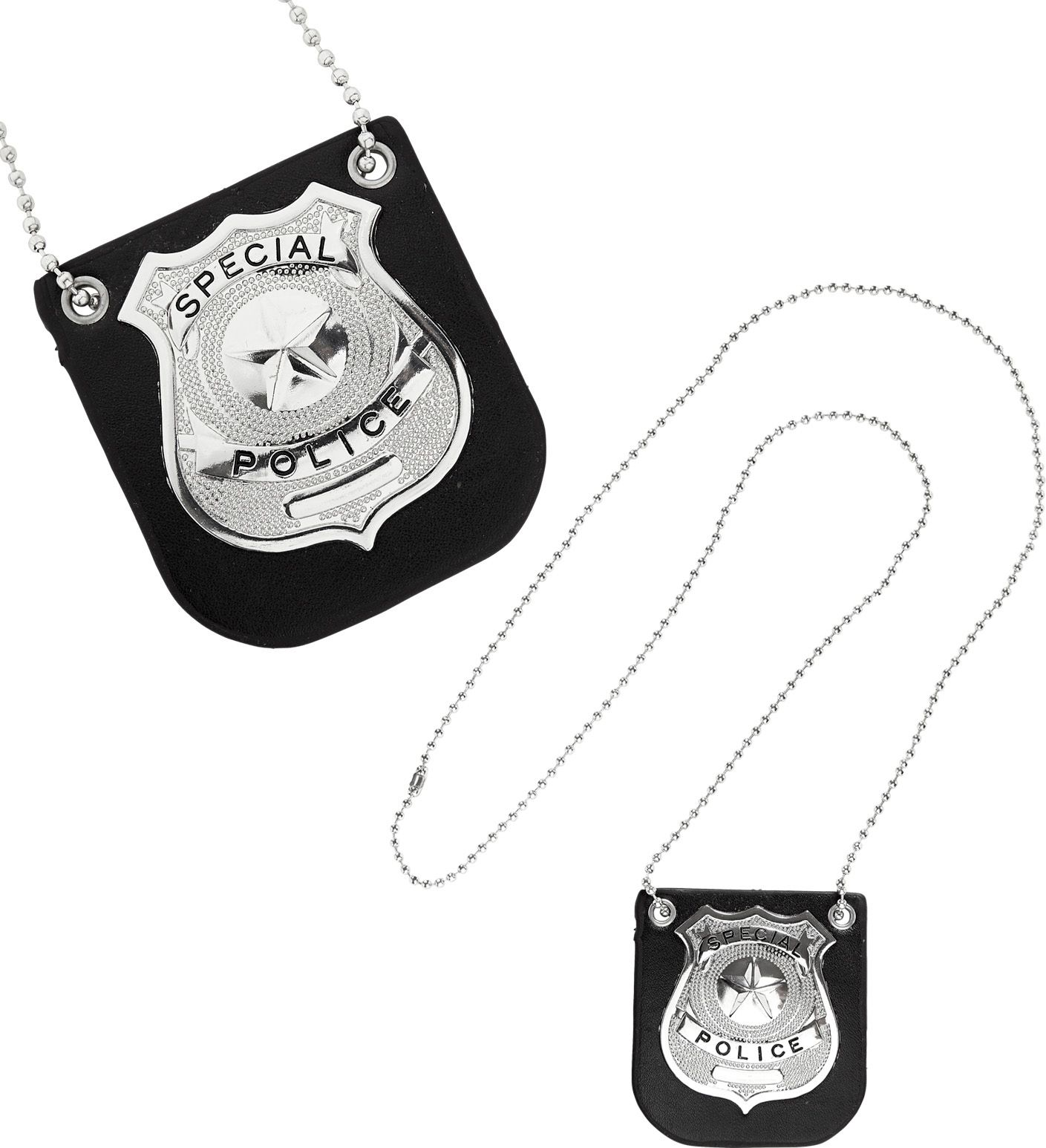 Sheriff badge ketting