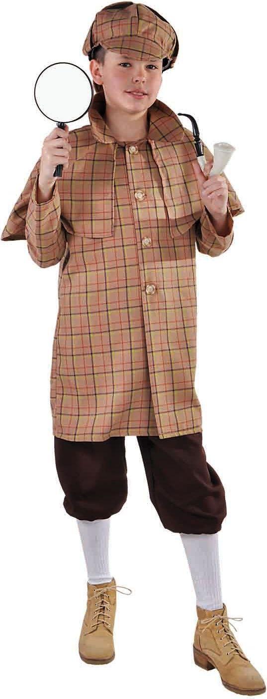 Sherlock Holmes kostuum jongens/meisjes