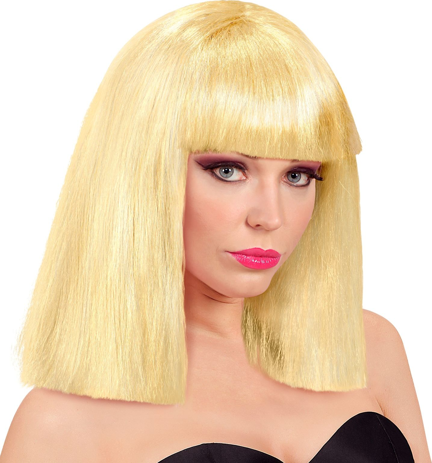 Showgirl pruik blond