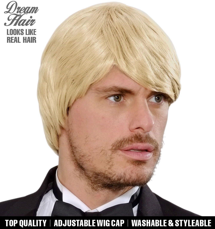 Simon blonde droomhaar pruik