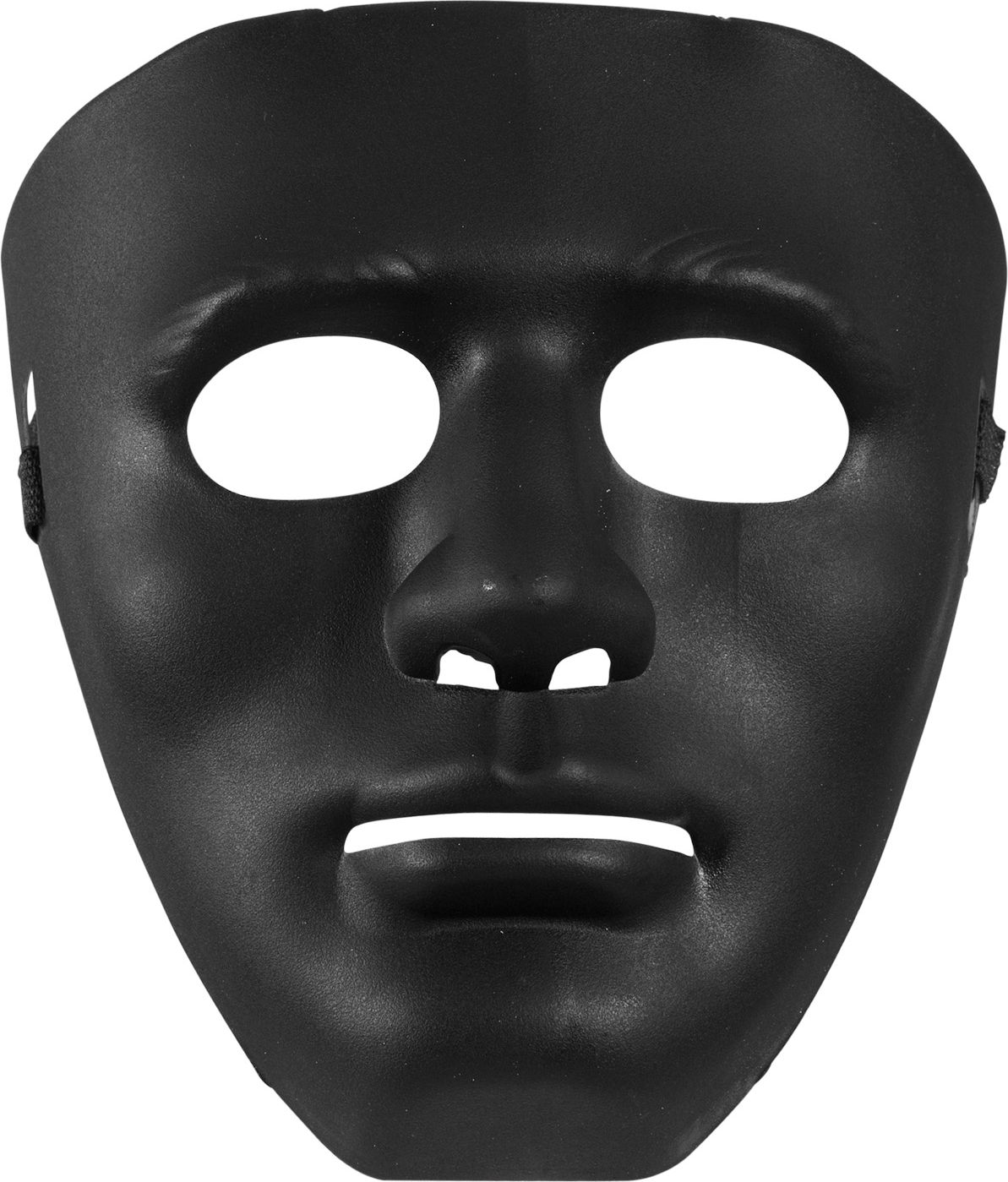 Simpel zwart masker