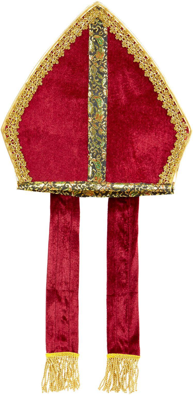 Sinterklaas mijter rood