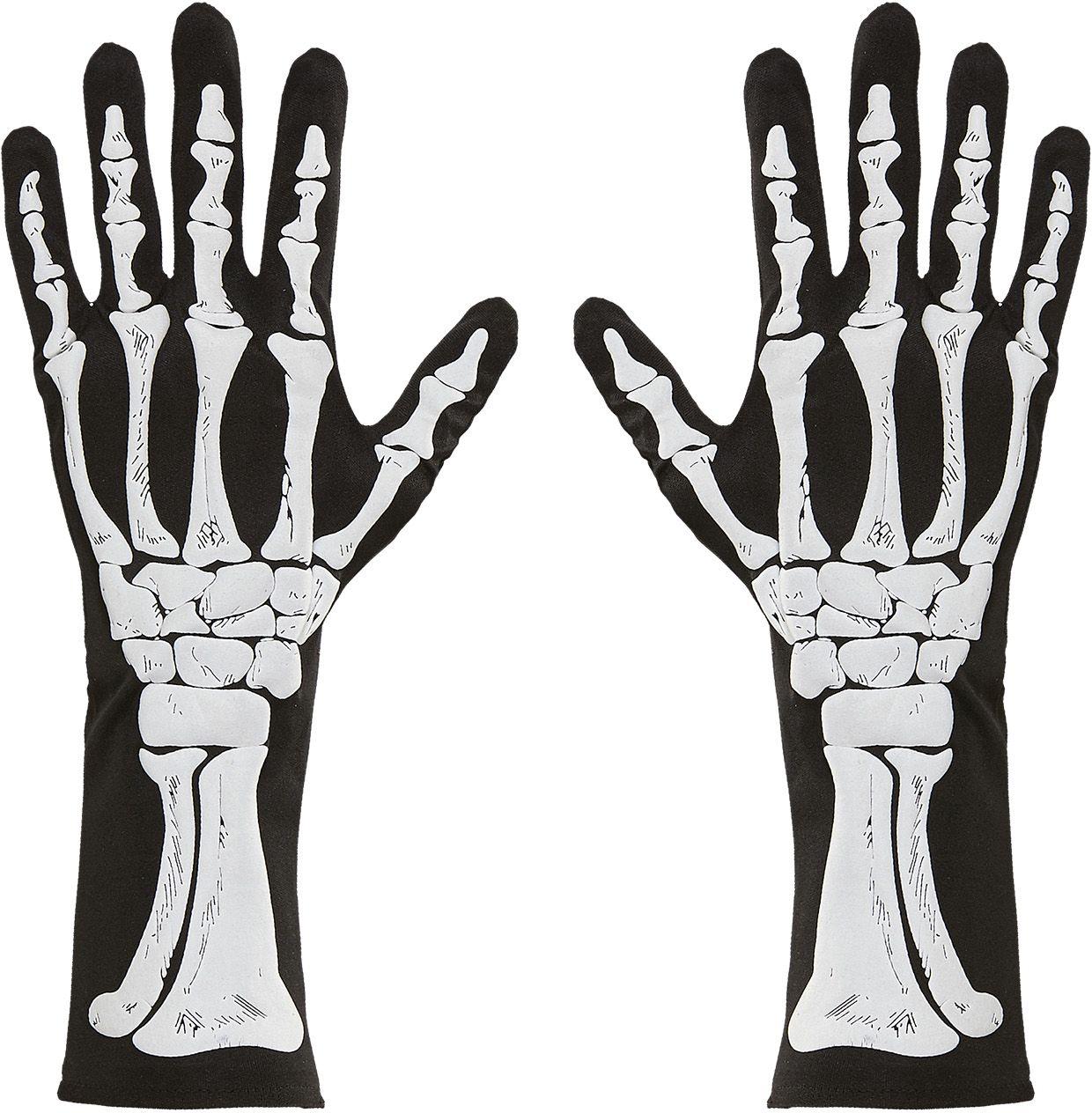 Skelet bot handschoenen One-size-volwassenen