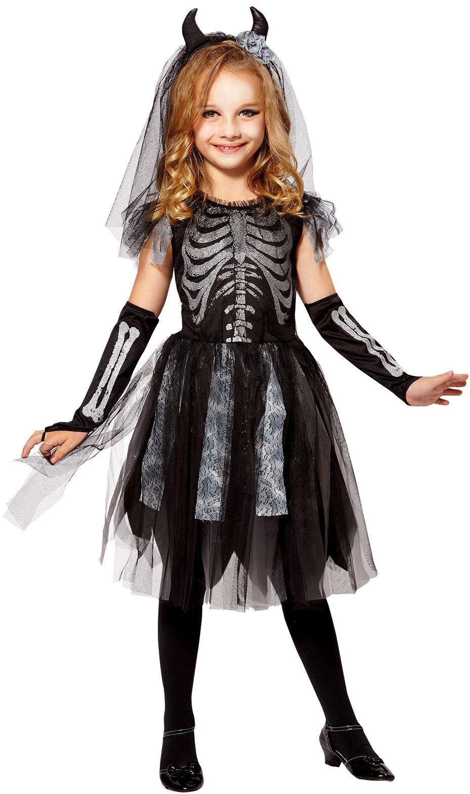 Skelet bruid kind pak