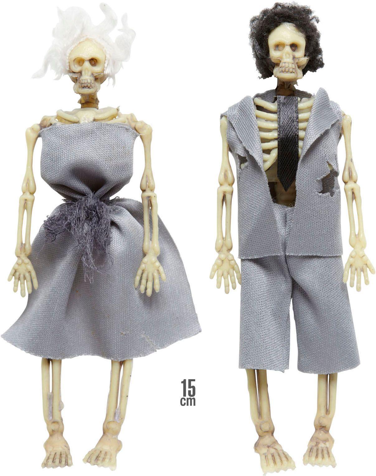 Skelet echtpaar decoratie