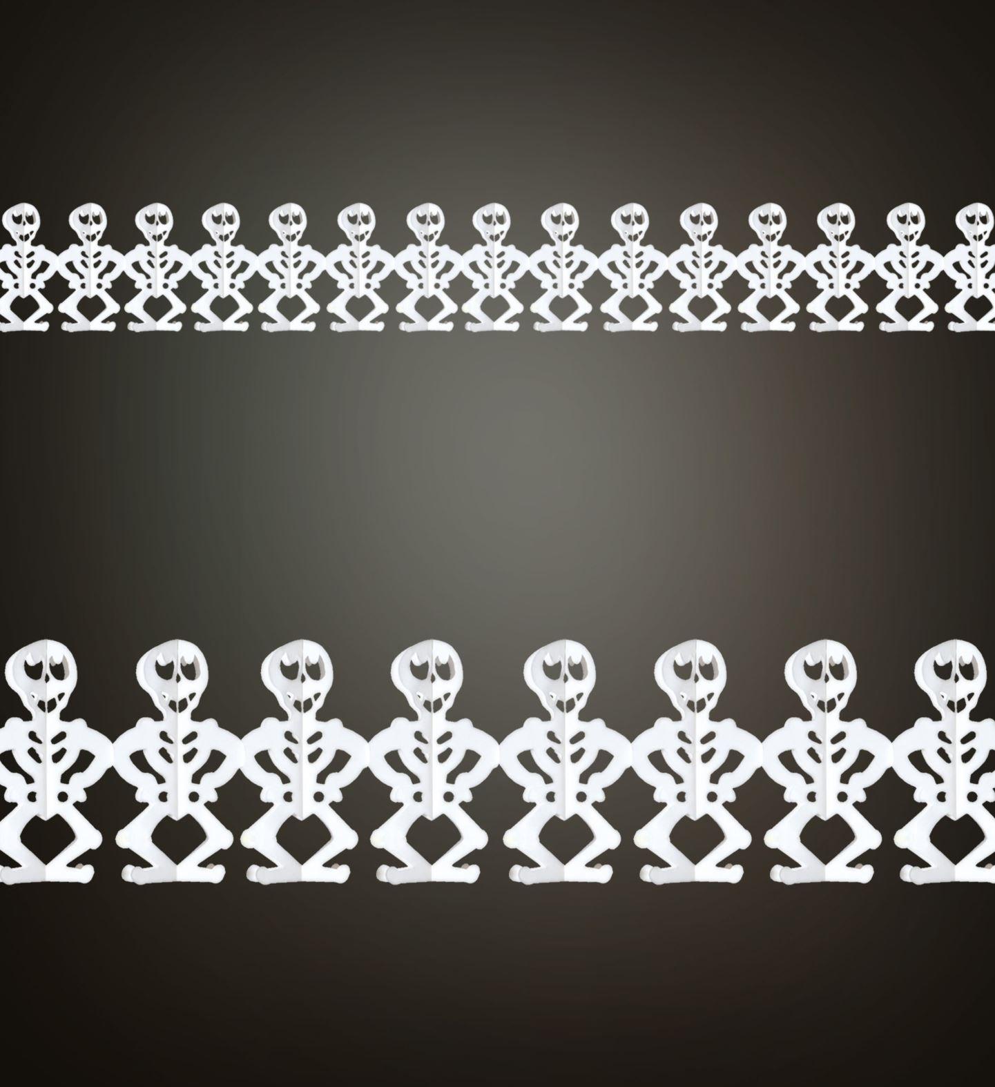 Skelet guirlande