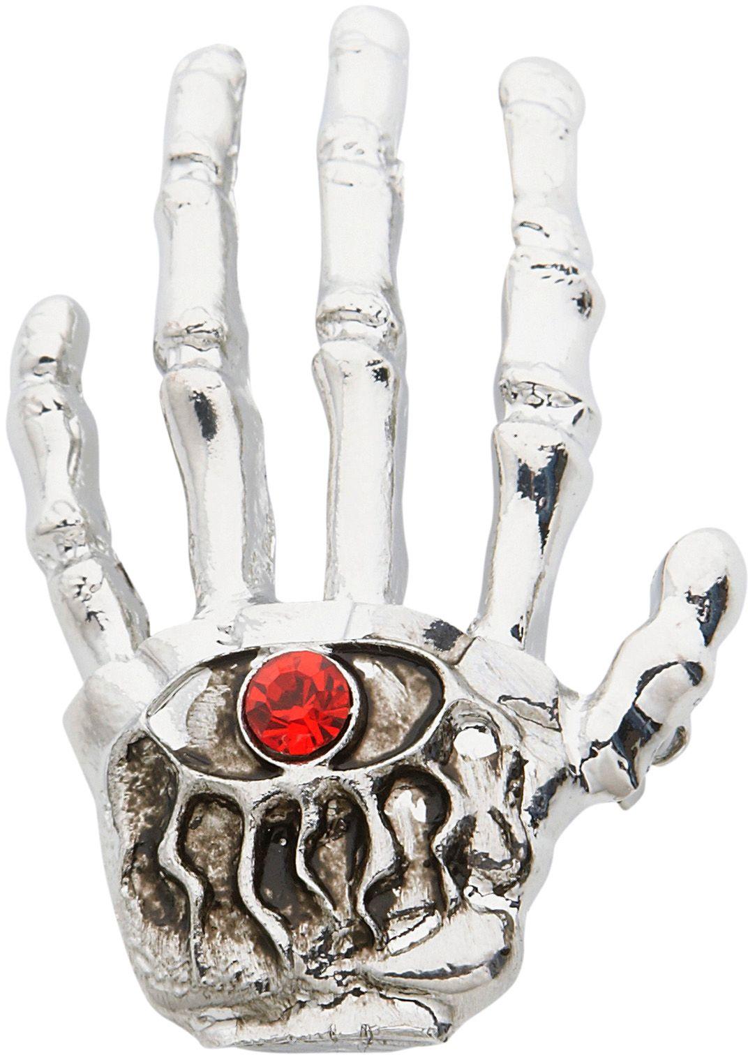 Skelet hand broche