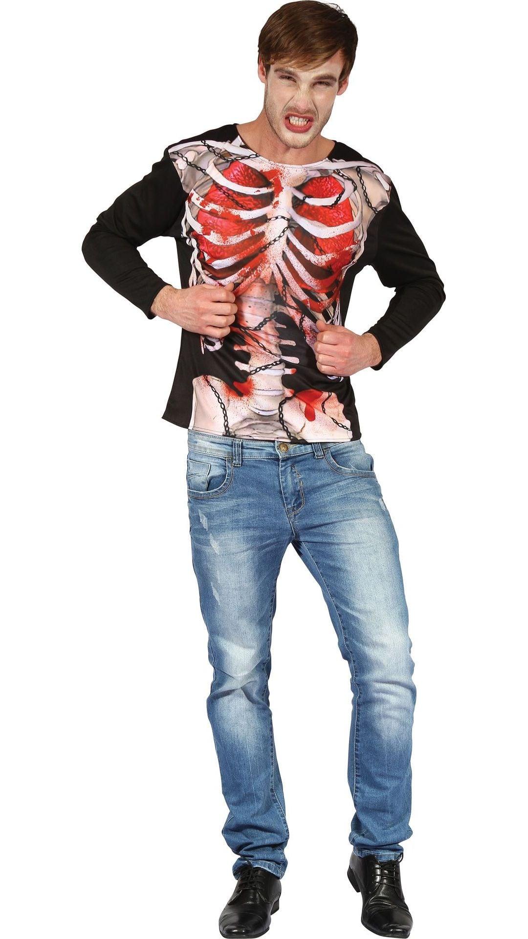 Skelet shirt 3D