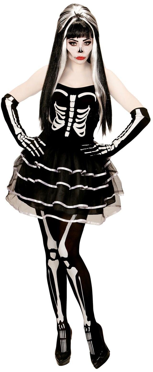 e195f43e0151f1 Skelet vrouwen jurk