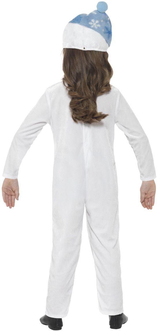 Sneeuwpop kostuum kleuters