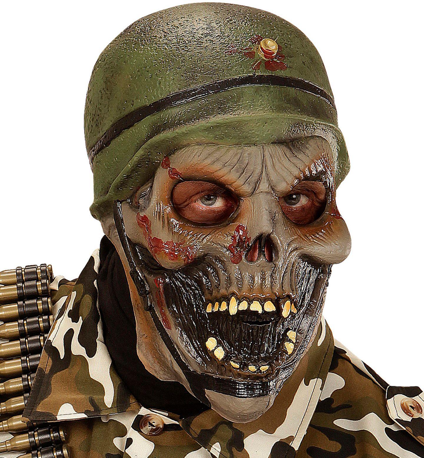 Soldaat zombie masker