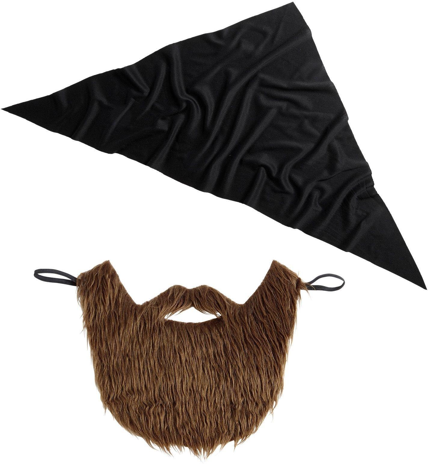 Soldaten bandana met baard