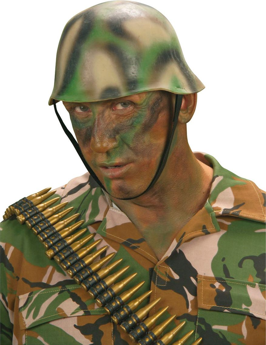 Soldaten camouflage helm
