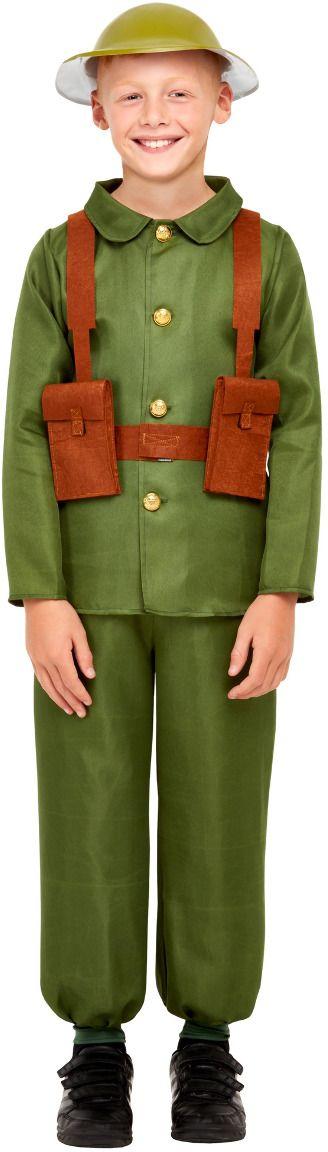 Soldaten kostuum WWI kind