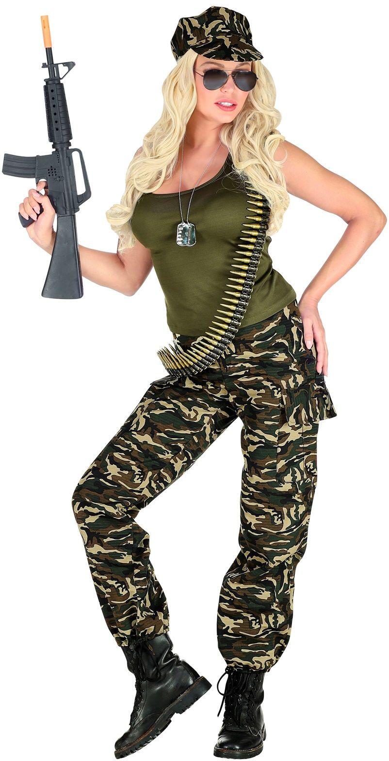 Soldatenpak vrouw