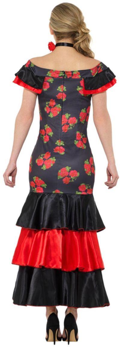 Spaans flamenco kostuum