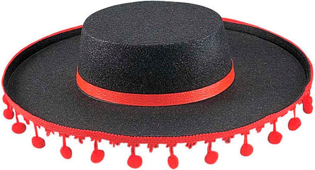 Spaanse flamenco hoed