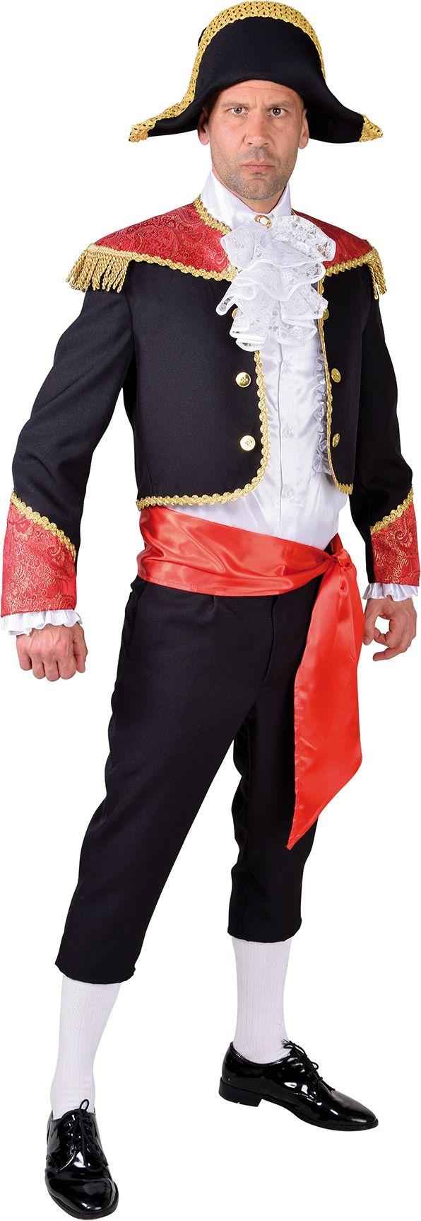 Spaanse matador kostuum heren