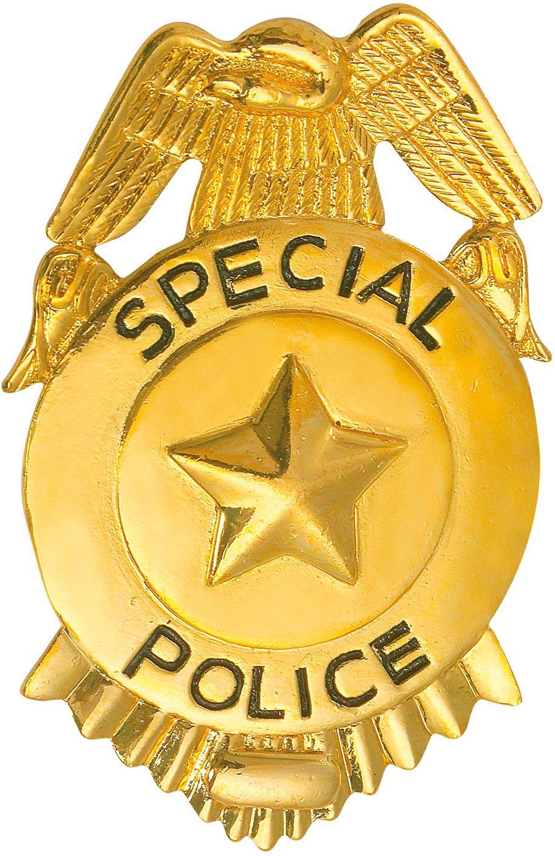 Speciale politie badge